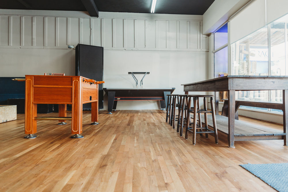 Rubio Monocoat-Faith Hardwood Flooring-The Upper Room-sand and refinish-commercial floor-coffee shop